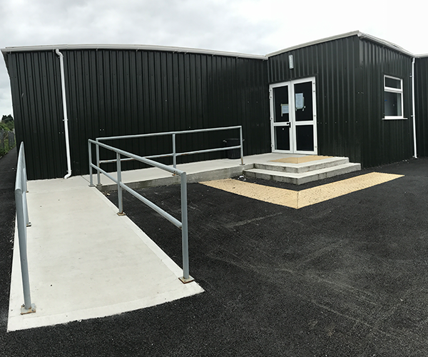 Cbs Amp Colaiste Eamon Ris Wexford Temporary Accommodation